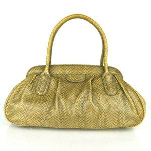 Banana Republic Handbag Snake Leather Clutch Purse
